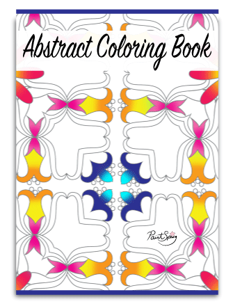 Printable Abstract Coloring Book for Adults