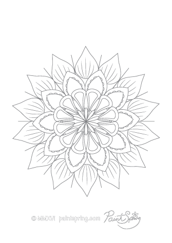 Printable Mandala Coloring Book Get 3 Free Pages