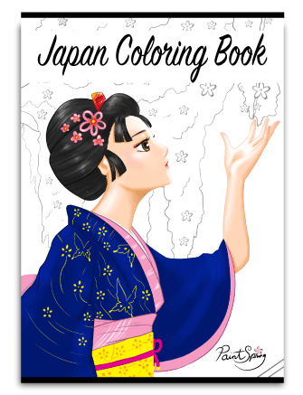 Printable Japan Coloring Book for Adults